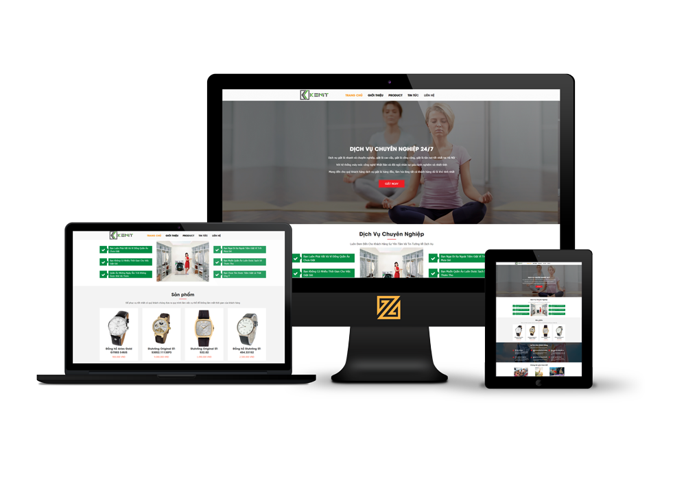Thiết kế website công ty doanh nghiệp – dịch vụ